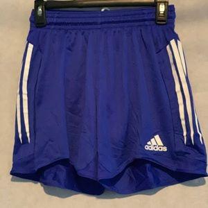 Adidas Climacool blue track shorts size S